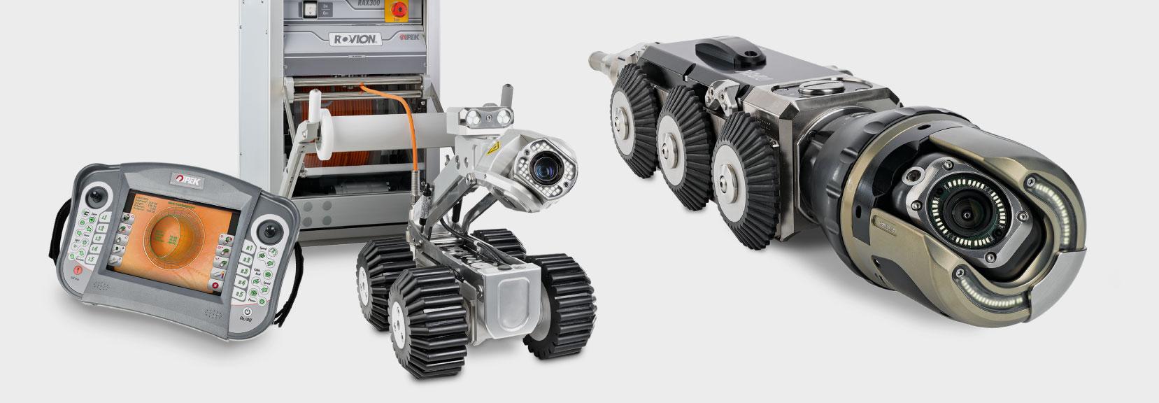 צילום פנים צנרת מערכות רובוטית RX-130
